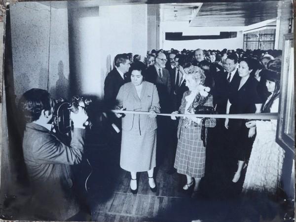 Открытие музея в 70-х...