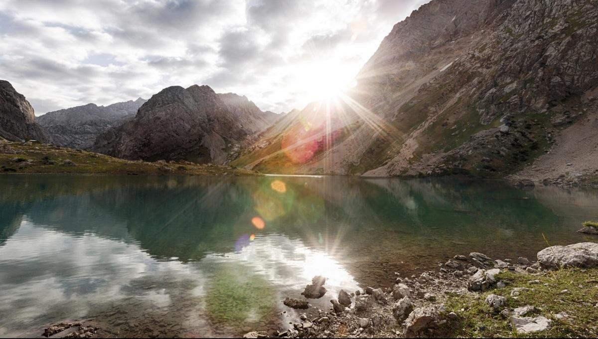 Святое озеро в Арсланбобе