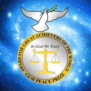 Эмблема Фонда премии мира Гузи