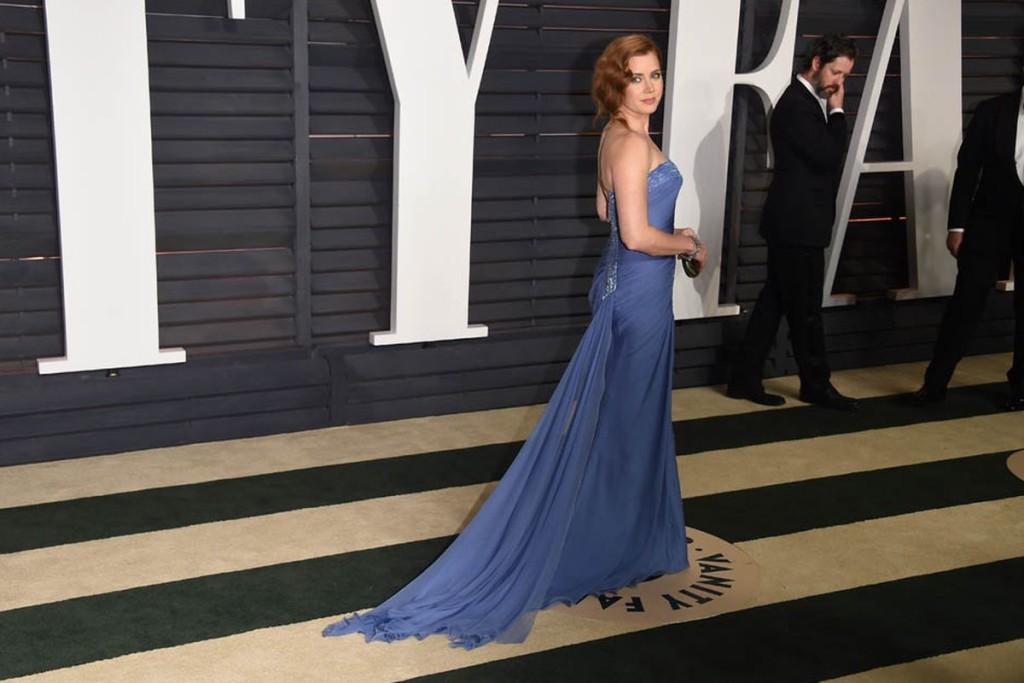 """Актриса Эми Адамс на церемонии вручения премии """"Оскар"""" в 2015 году"""