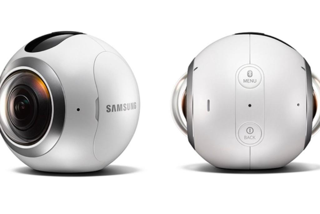 Круглая камера Samsung Gear 360