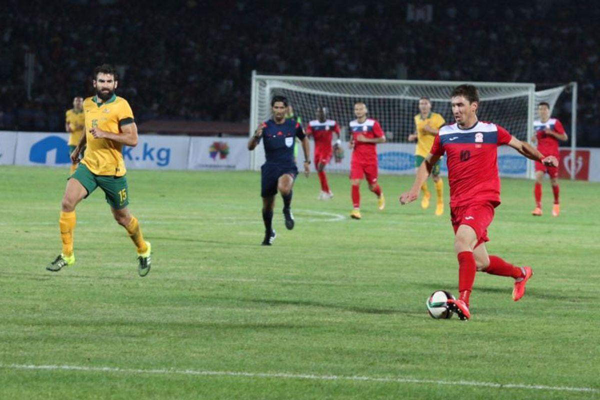 А вот легендарный матч против сборной Австралии в 2015 году дал Кыргызстану 0 очков в рейтинг из-за проигрыша.