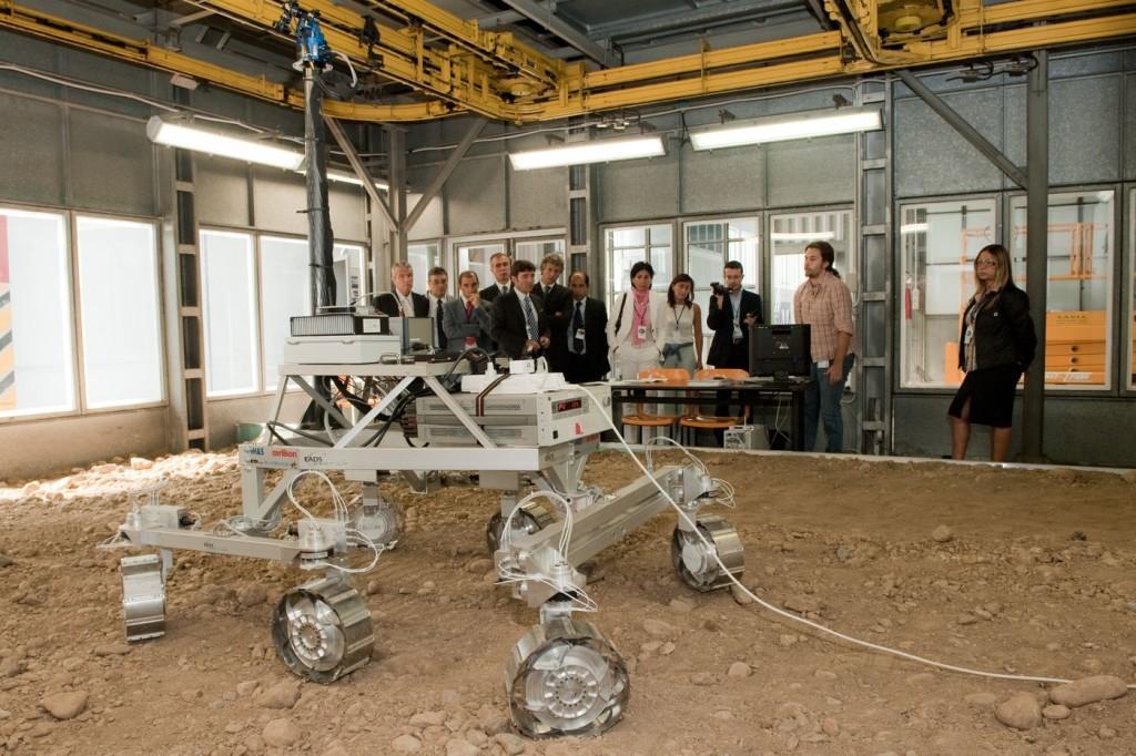 "Прототип марсохода ""Экзомарс"""
