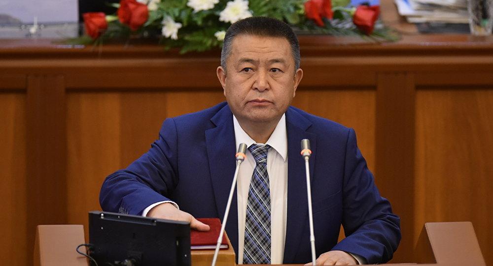 Спикер Жогорку Кенеша, лидер партии СДПК Чыныбай Турсунбеков