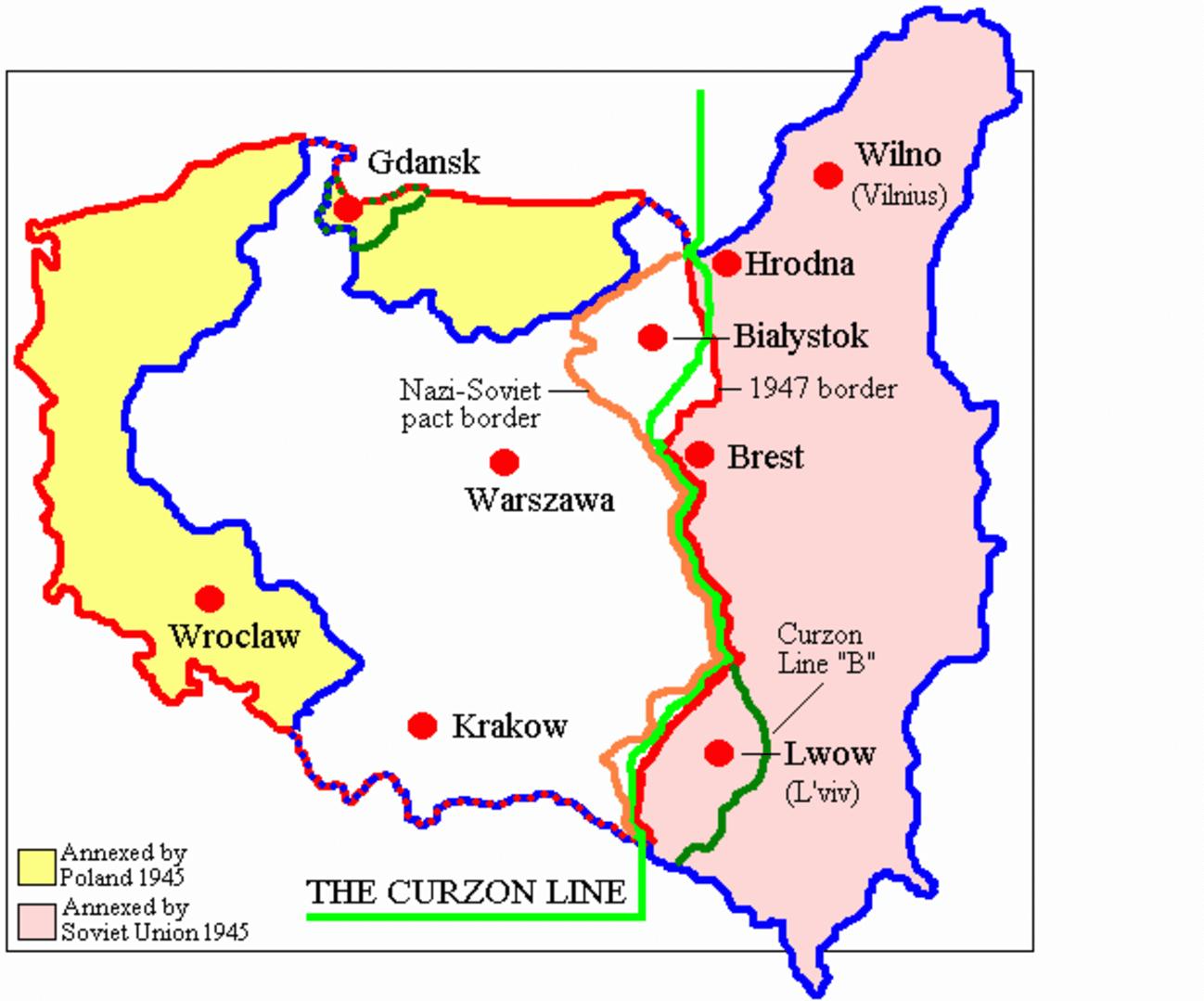 6_Карта Линии Керзона
