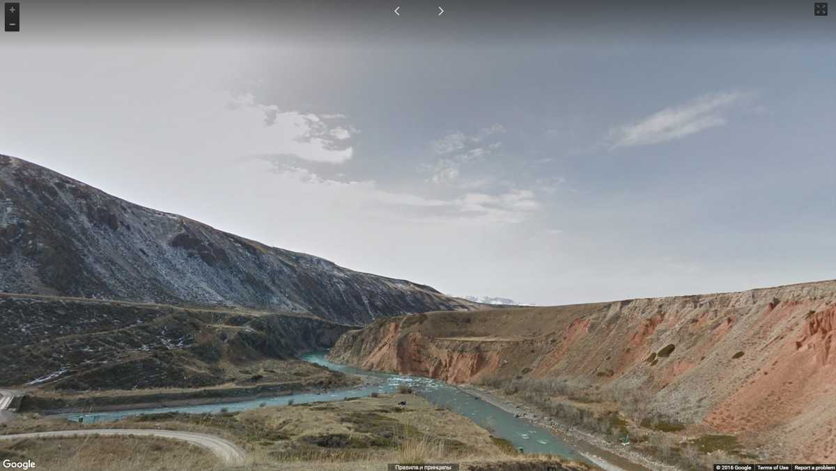 Долина Эки-Нарын