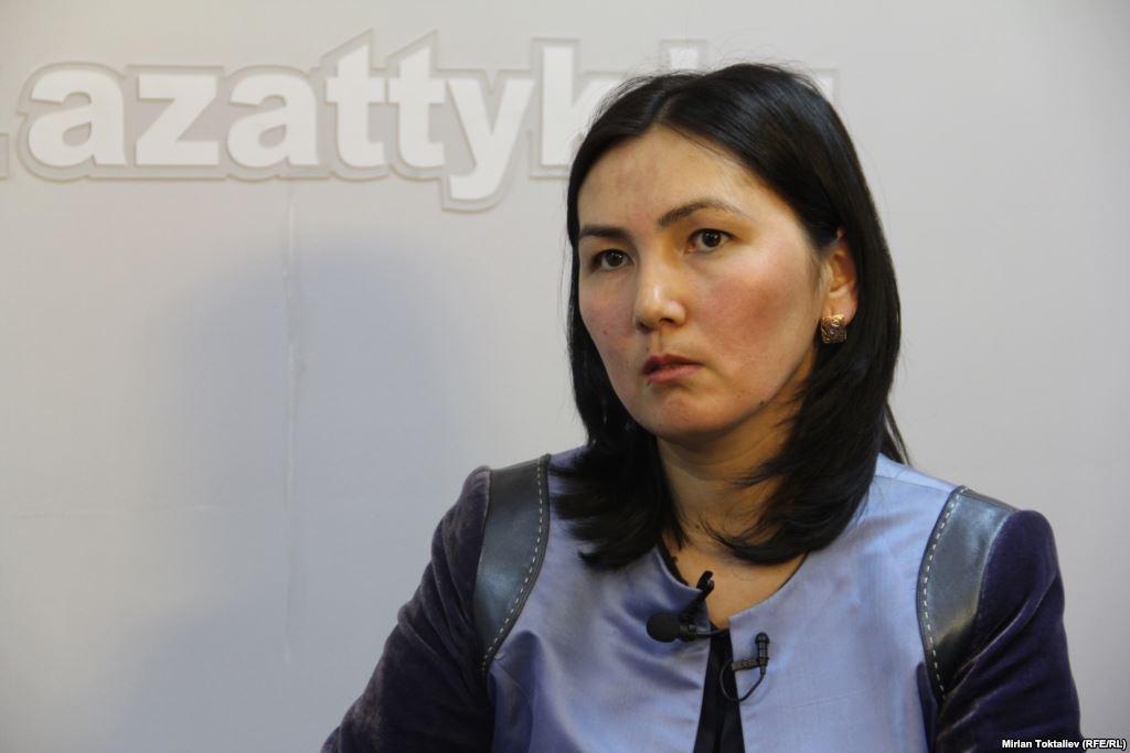 Инициатор законопроекта — депутат и бывший генпрокурор Аида Салянова. Фото: Мирлан Токталиев.
