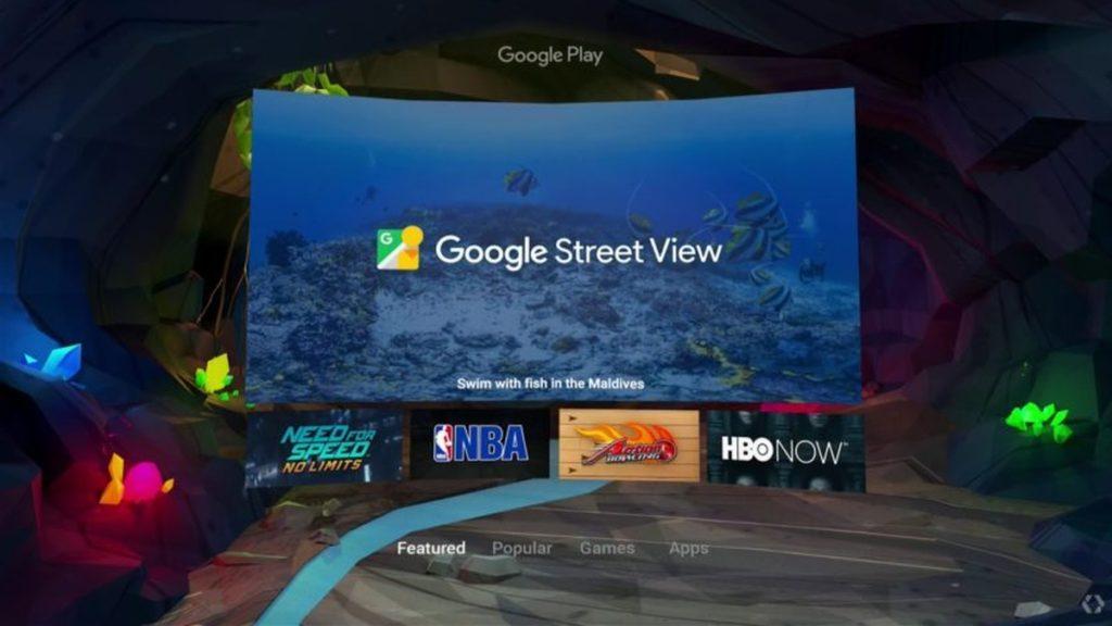 Так будет выглядеть Android в очках виртуальной реальности