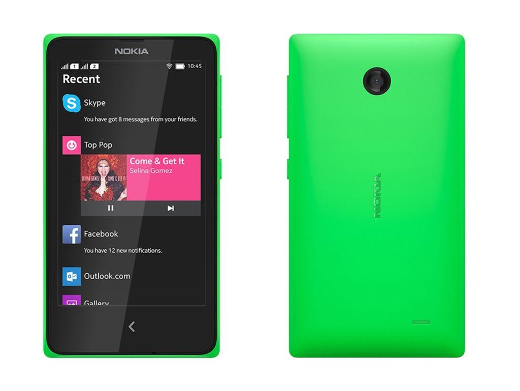 Nokia X, смартфон на Android, выпущенный в 2014 году