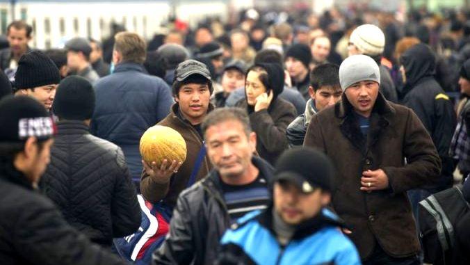 Кыргызские мигранты