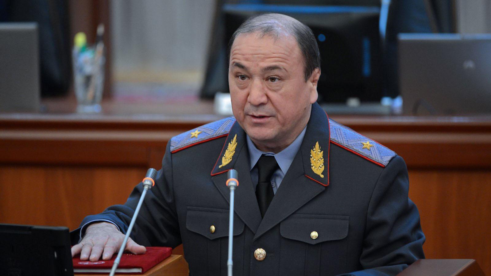 Мелис Турганбаев, бывший министр внутренних дел Кыргызстана.