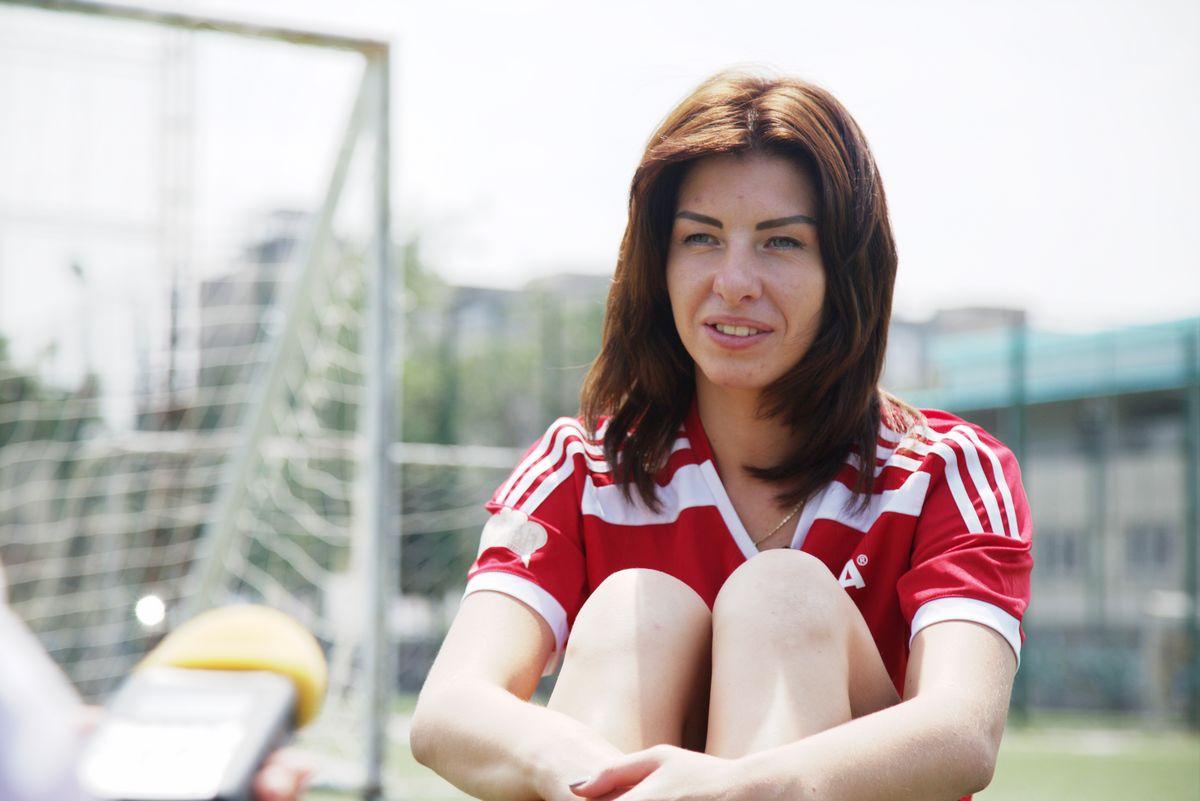 Наталия стала лучшим вратарем чемпионата мира по уличному футболу