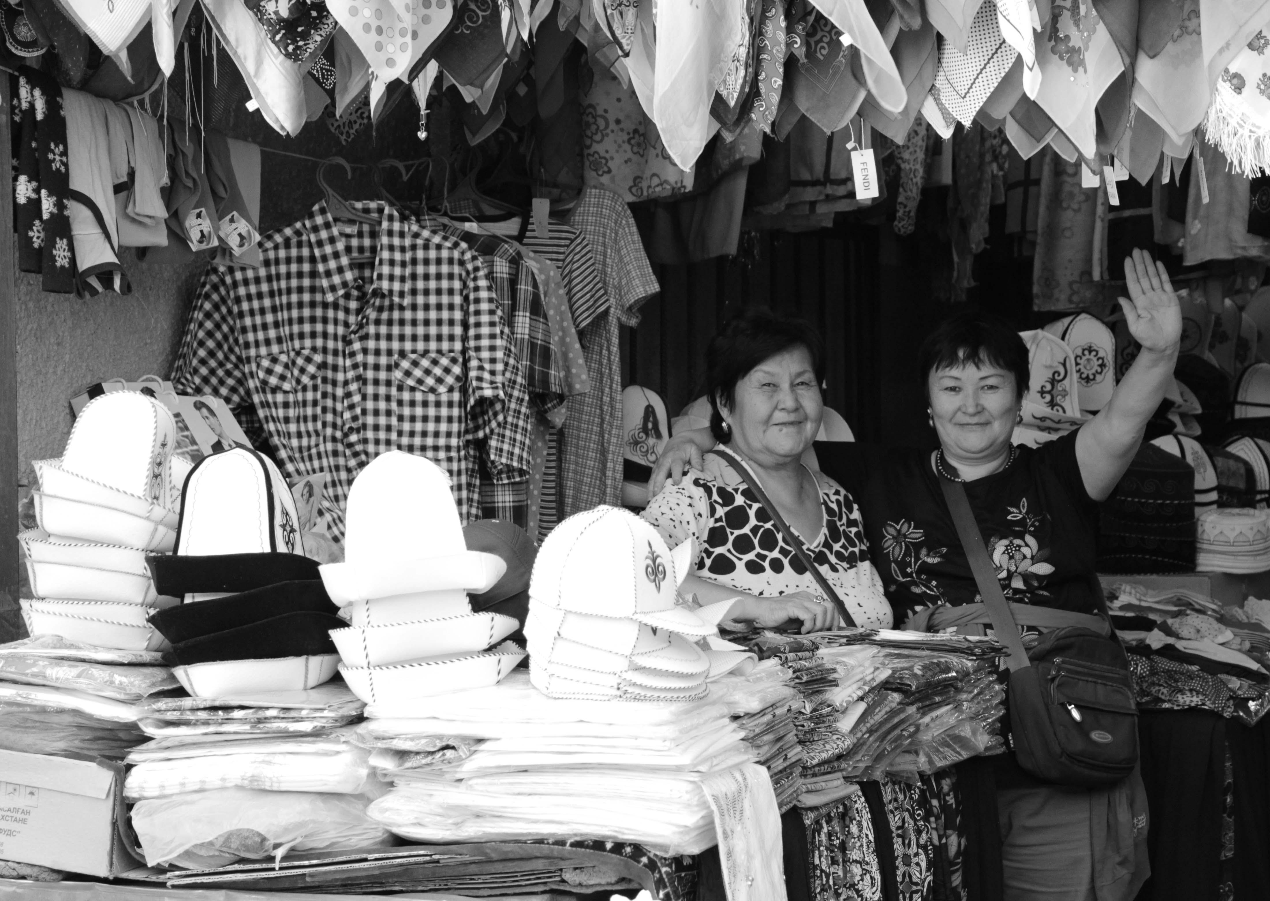 Кара-балтинские торговки приветливы и открыты