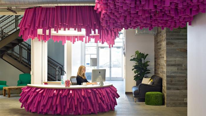 Главный офис Lyft в Сан-Франциско/officesnapshots.com