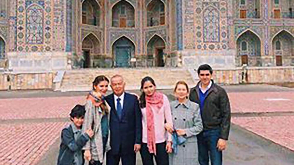 Фото из личного архива Лолы Каримовой, март 2014 г.