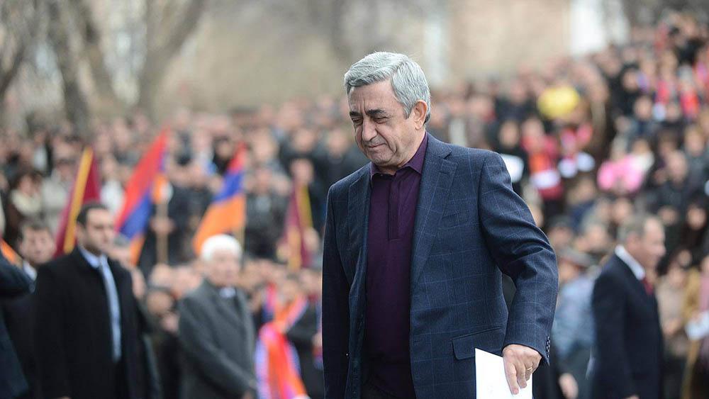 Президент Серж Саргсян. Фото: novostnik.ru
