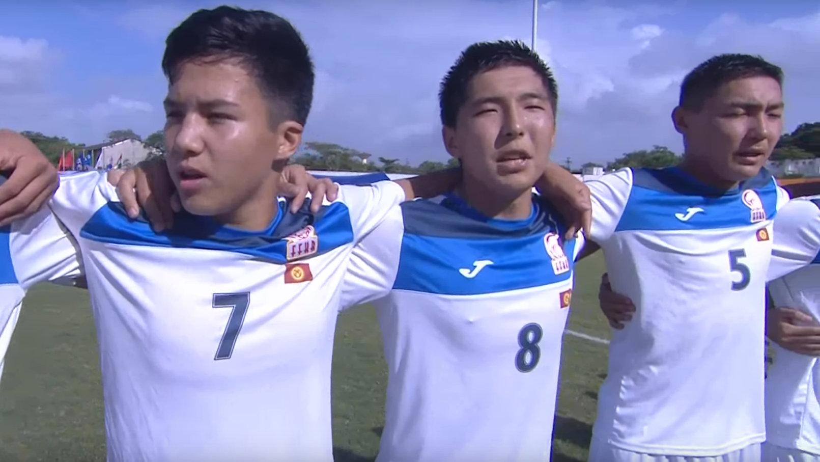Кыргызстан впервые играет в финальной стадии чемпионата Азии U-16.