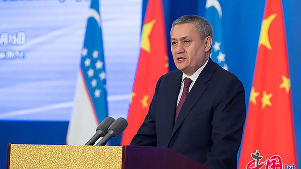 Рустам Азимов, china.org.cn