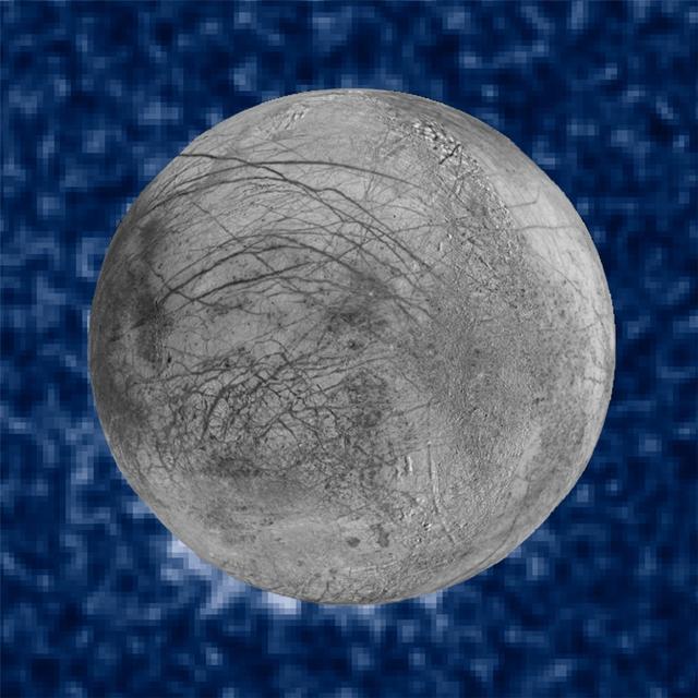 Вот таким снимком поделилось NASA