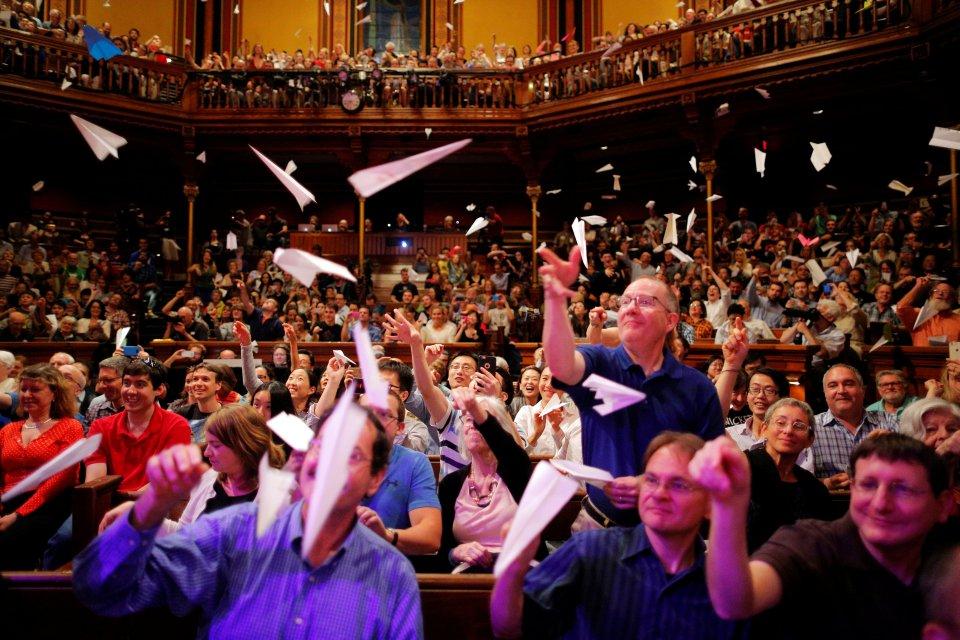 Шнобелевская премия 2016. Фото: REUTERS/ Брайан Снайдер