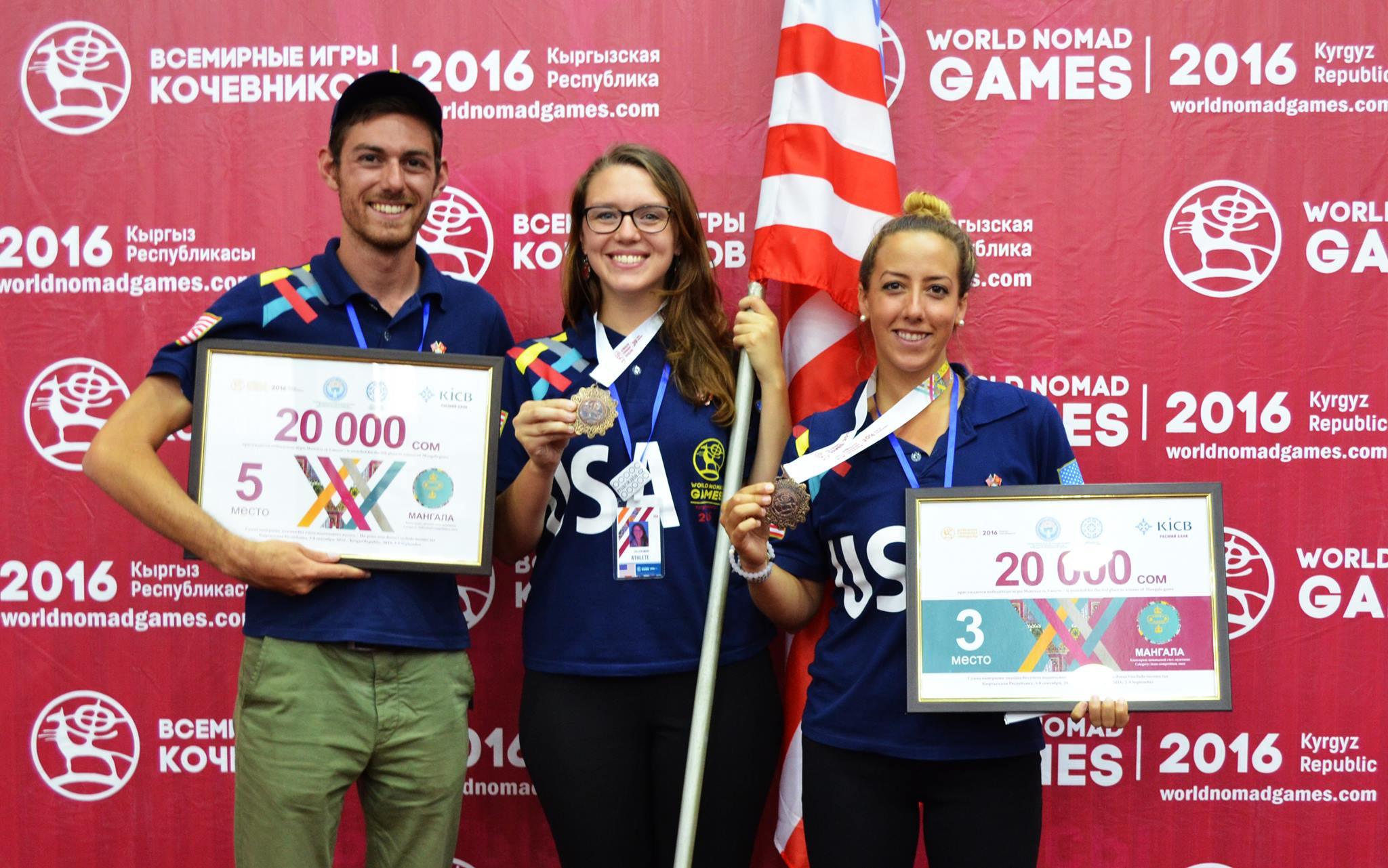 Коллин Вуд с бронзовой медалью