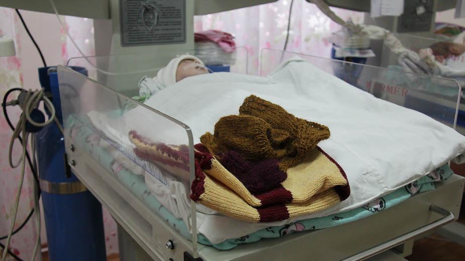 Младенец в перинатальном центре