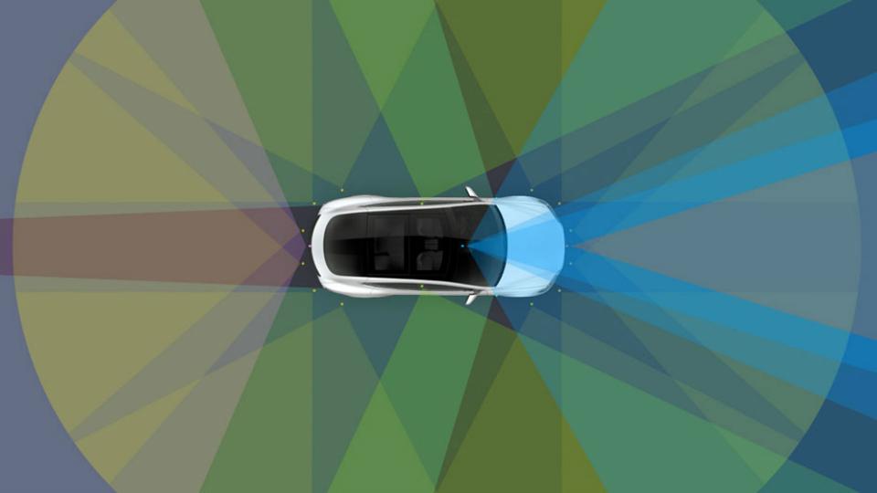Обзор камер, поддерживающих автопилот в электрокарах Tesla