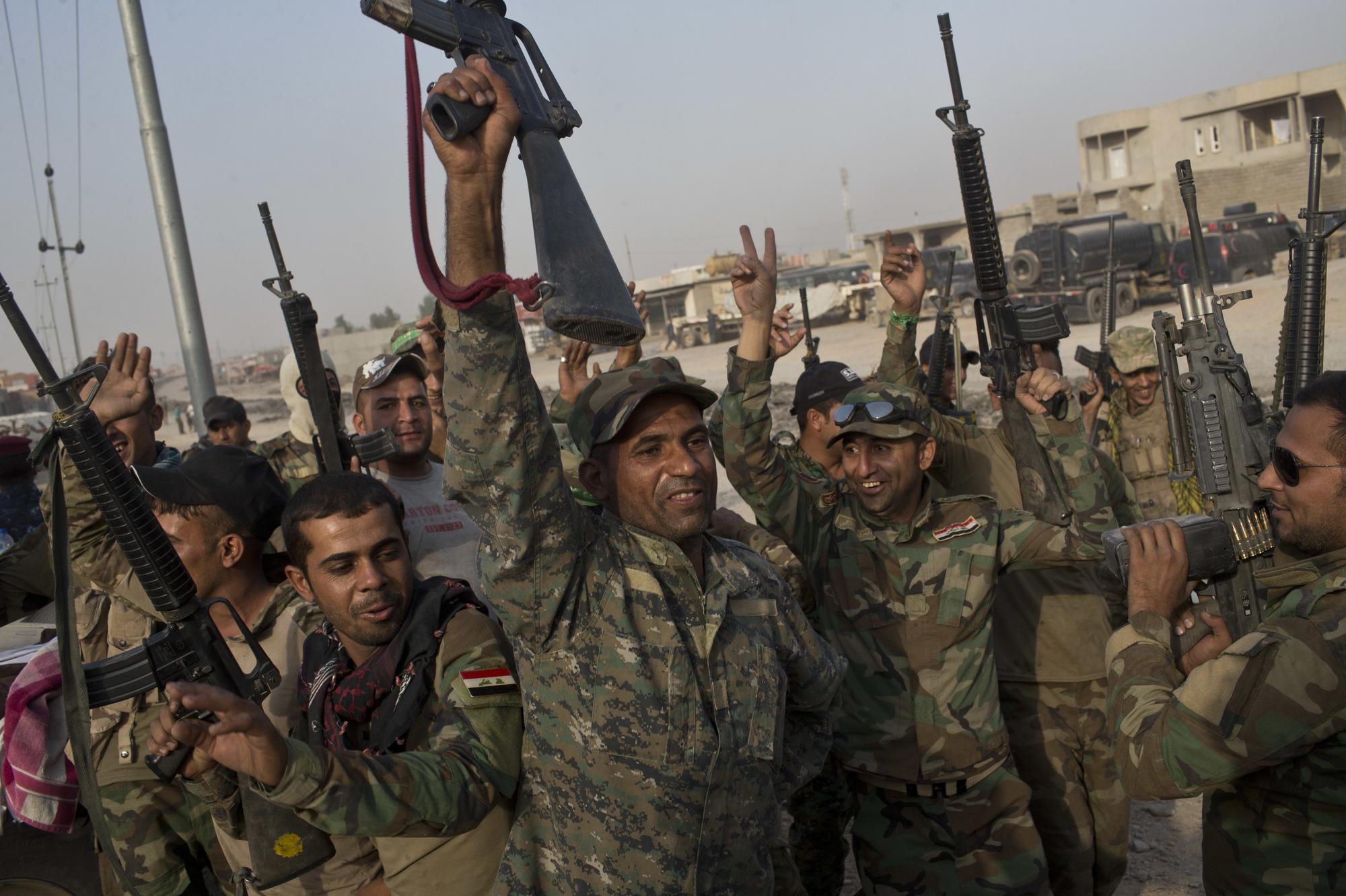 Солдаты иракской армии. Фото: Star Tribune