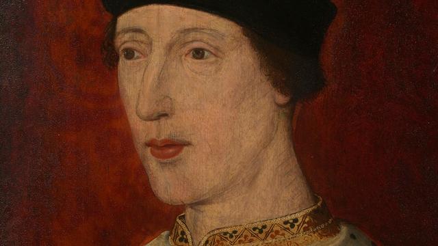 Портрет короля Англии Генриха VI, пьеса про которого и была признана написанной в соавторстве