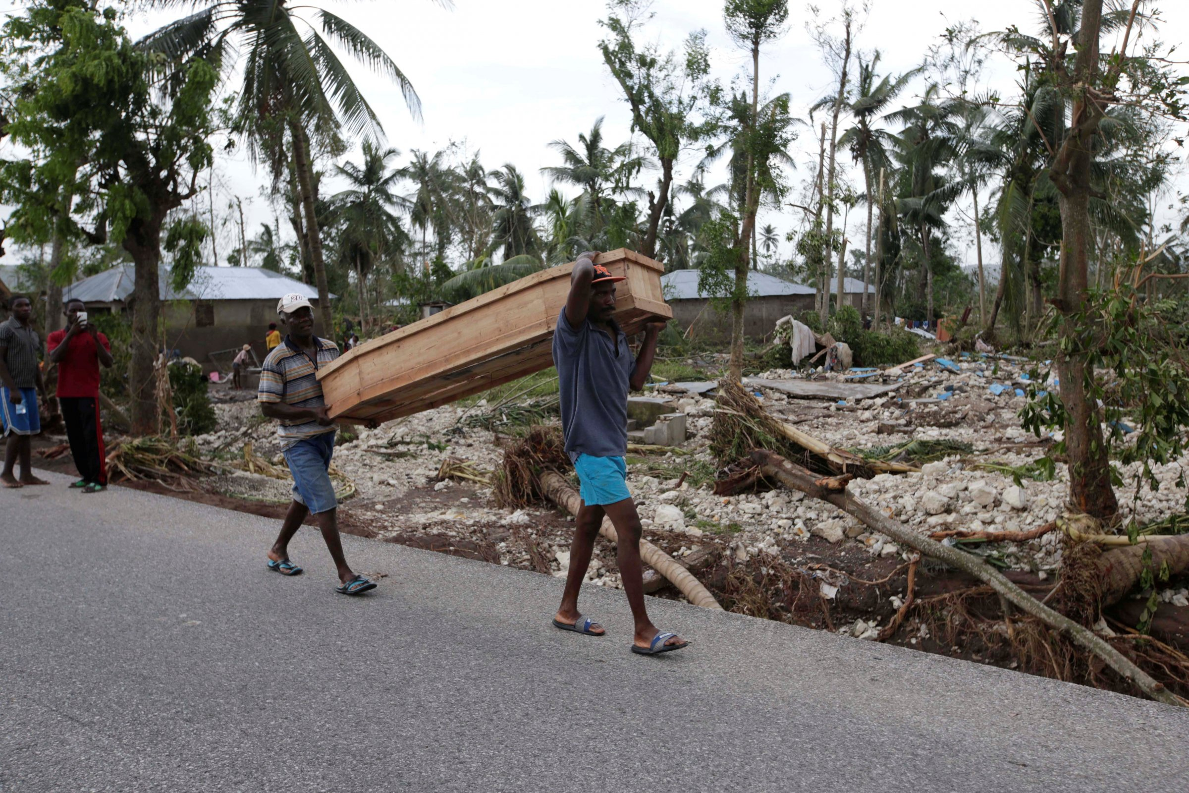 Последствия урагана на Гаити. Фото: Business Insider