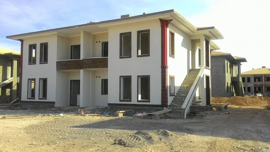 Для ванских кыргызов строят дома в городе Йозгат.