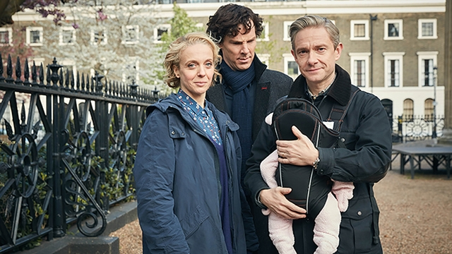 Шерлок, Ватсон и его жена Мэри Морстен