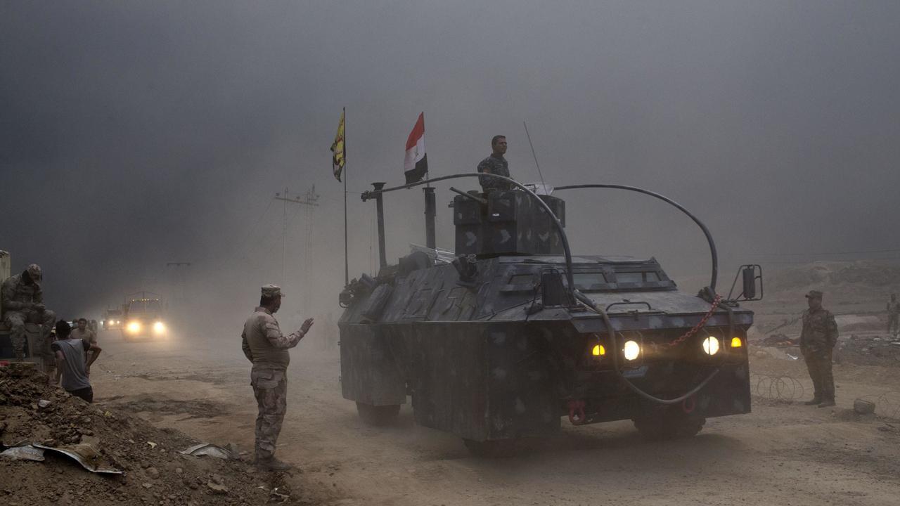 Иракской армии еще предстоит освободить большую часть города. Фото: First.
