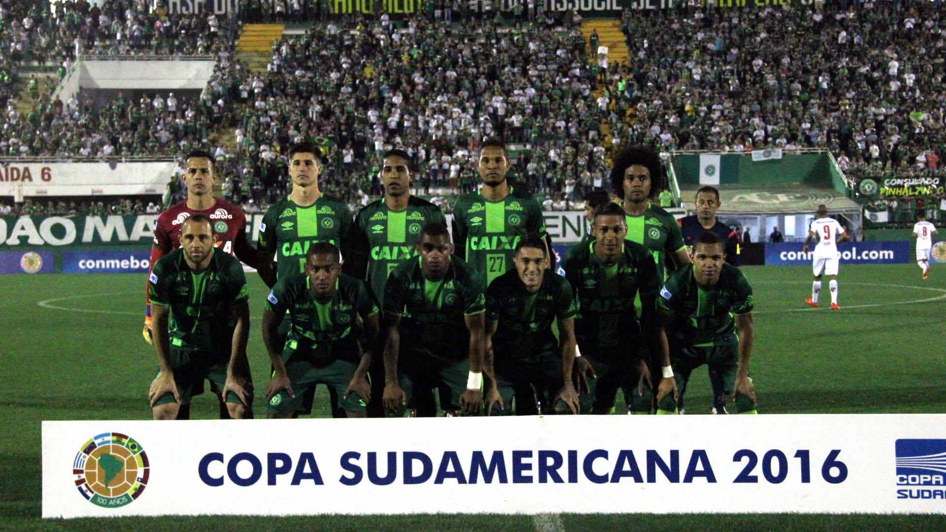 Футбольная команда «Chapecoense».
