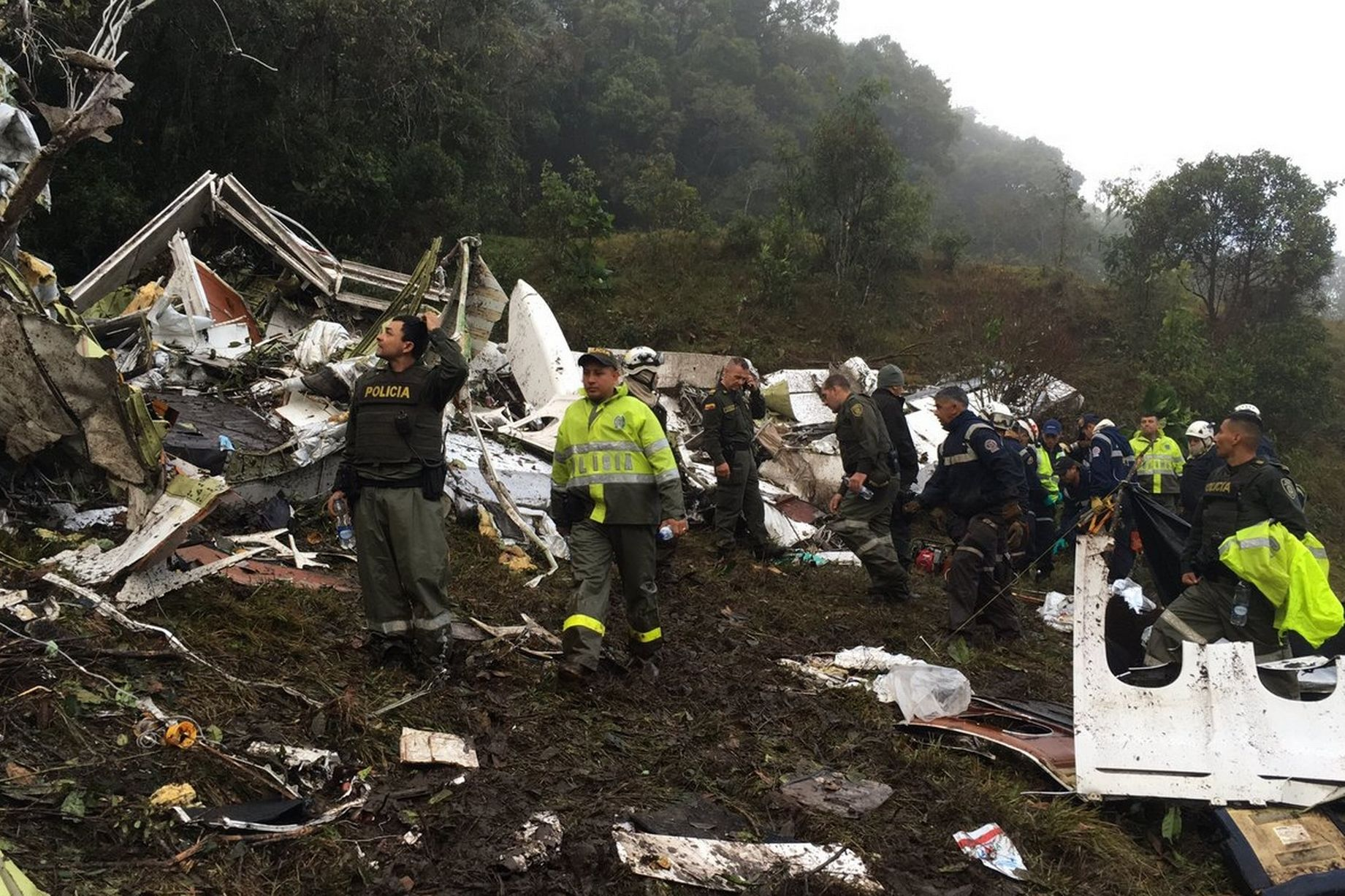 Место трагедии. Фото: Policiantioqula