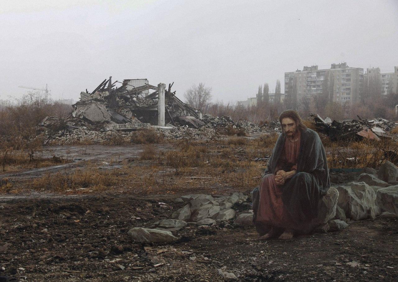 «Христос в пустыне» Ивана Крамского.
