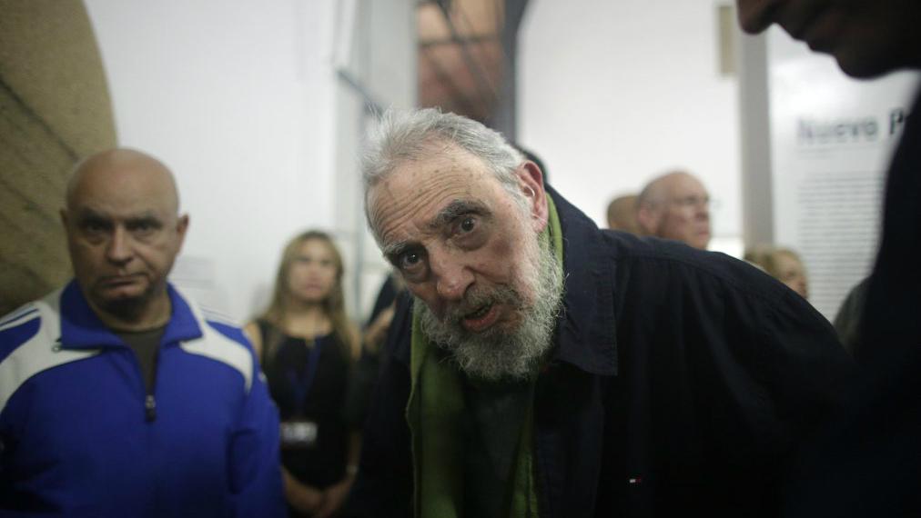 Пожилой Фидель Кастро. Фото: Time.