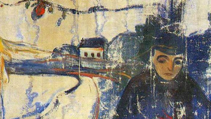 Картина норвежского графика или кыргызского живописца?