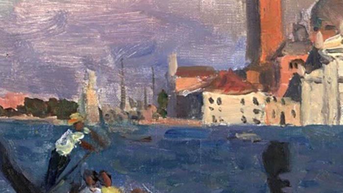 Кто автор этого пейзажа? Французский или советский живописец?