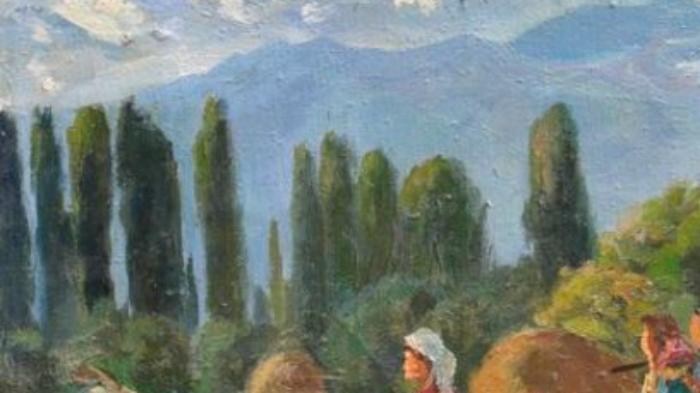Картина французского постимпрессиониста или кыргызского художника, ставшего знаменитым актером?