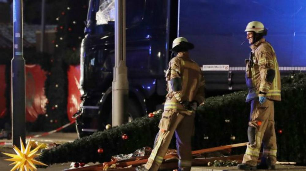 Трагедия на рождественской ярмарке.  Фото: BBC