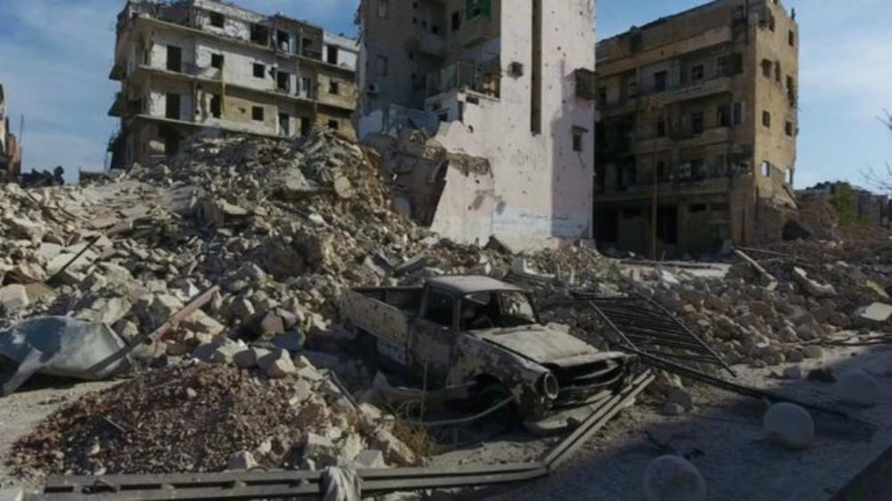 Алеппо после бомбежек. Фото: REUTERS