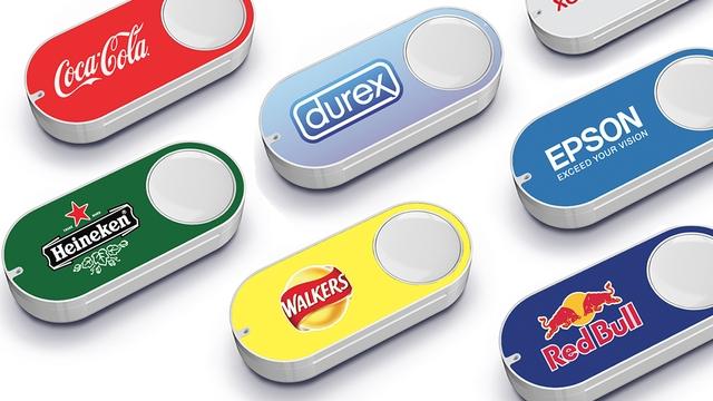 Так выглядят кнопки Amazon Dash