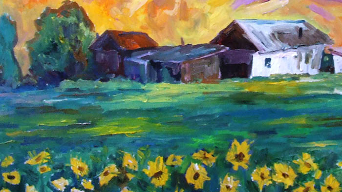 Картина всемирно известного нидерландского художника или студенческий этюд кыргызского живописца?