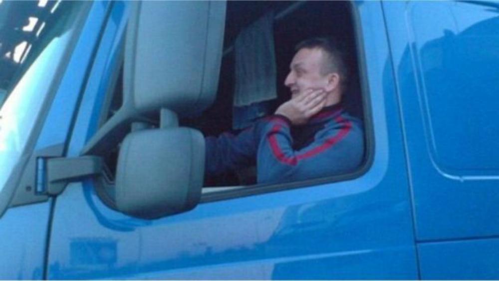 Лукаш Урбан - убитый водитель автобуса, до сих пор единственная опознанная жертва трагедии. Фото: BBC