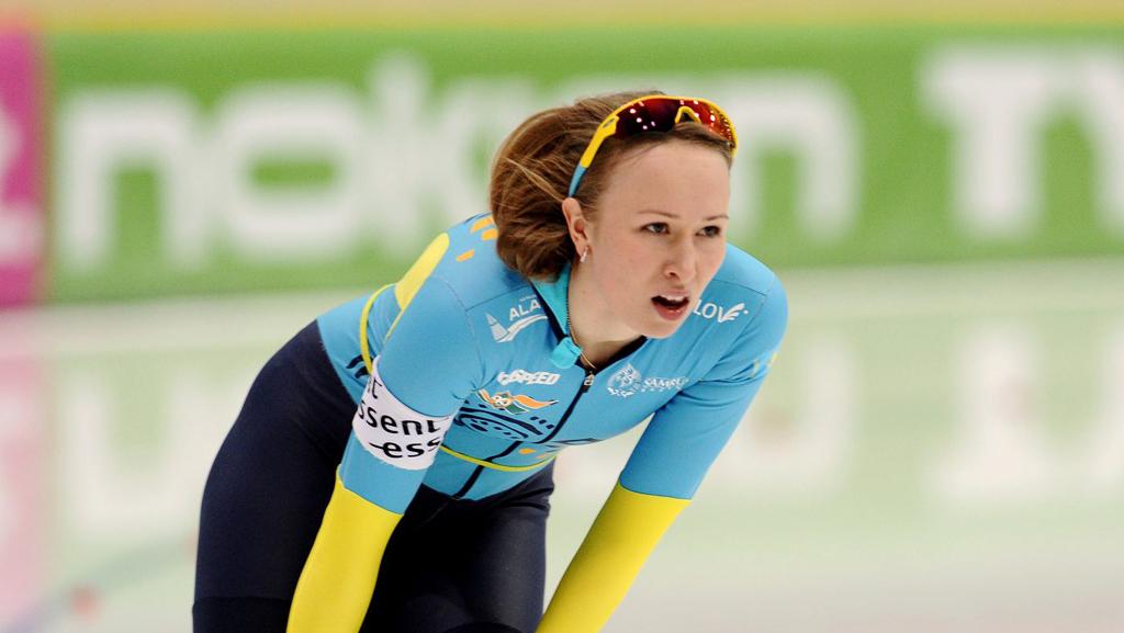 Конькобежец Екатерина Айдова