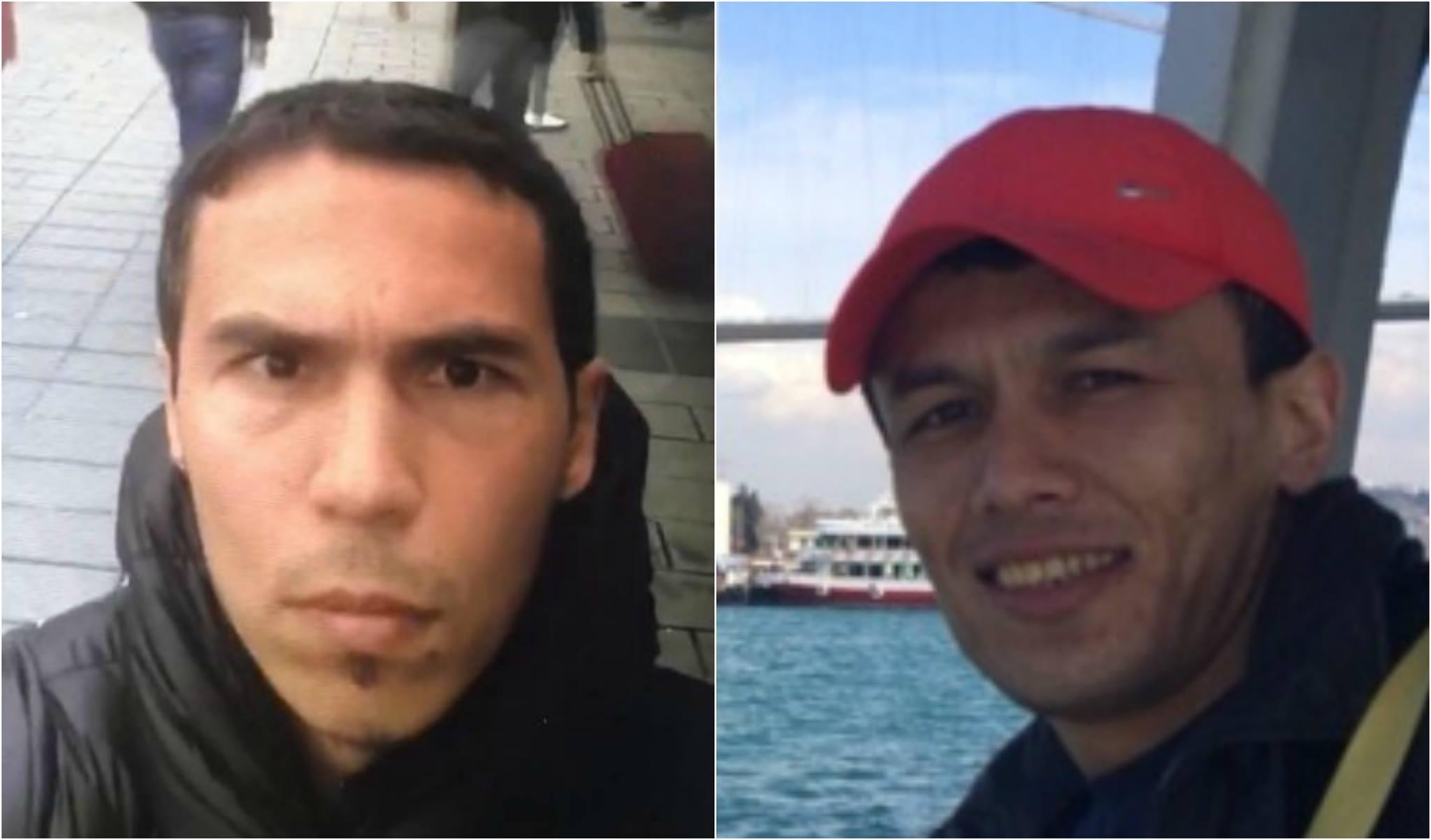 Слева - подозреваемый в теракте в Стамбуле. Справа - кыргызстанец Яхё Машрапов.