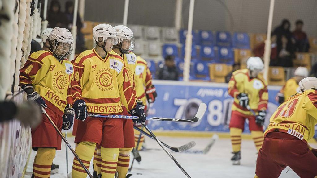 Кыргызские хоккеисты
