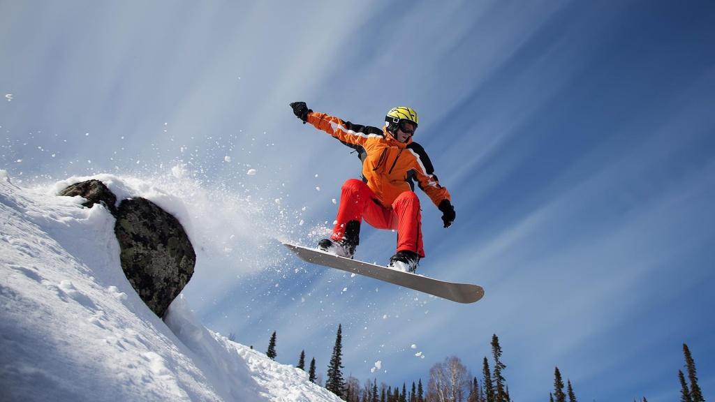 Сноубордист Тимур Губаев