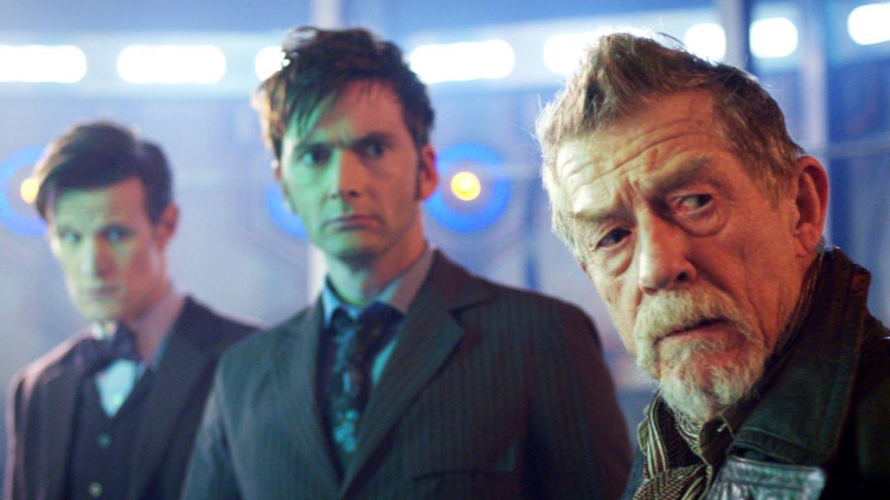 Джон Херт в сериале «Доктор Кто».
